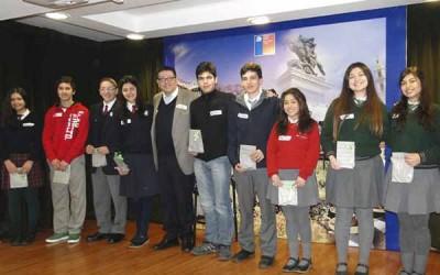 Estudiantes de la región que realizaron pasantía escolar en Nueva Zelandia