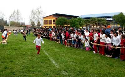 Más de 300 niños de San Vicente participaron de Campeonato Cross Country 2014