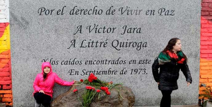 Inauguran memorial de Víctor Jara