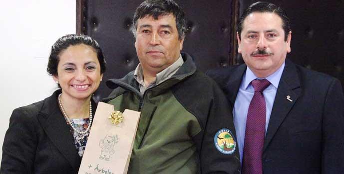 Festejan a Guardaparques de CONAF al conmemorar 100 años