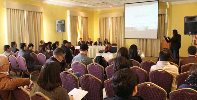 Seminario SuizAgua reúne en Rancagua experiencias exitosas en torno a la gestión sustentable del agua
