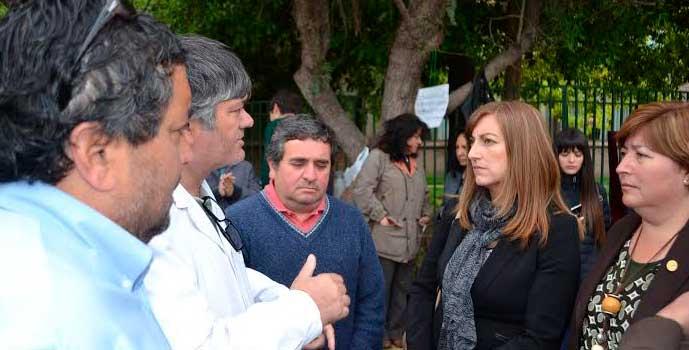 Fin a la huelga del colegio San Antonio del Baluarte
