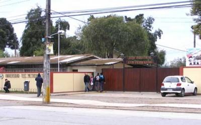En reconstrucción liceo industrial de San Fernando