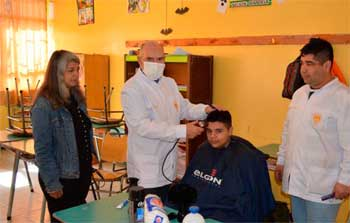 Operativo social en Gultro