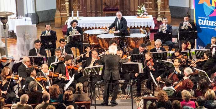 Orquesta de Cámara en comunas de la Región de O'Higgins
