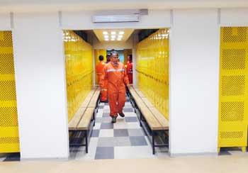 Fiscalizan condiciones de trabajadores contratistas en El Teniente