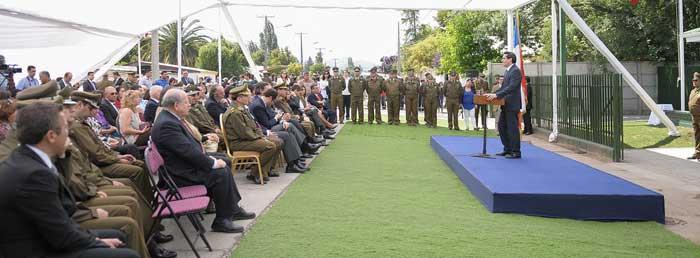 Ministro del Interior inauguró subcomisaría en San Francisco de Mostazal