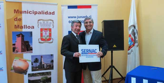 Inauguran oficina de Sernac en Malloa