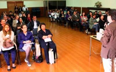 Docentes de O'Higgins analizan programa educativo del Plan de Descontaminación Atmosférica