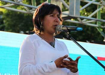 Pamela Zamorano Directora Regional Sernam