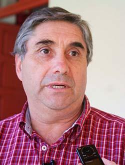 Alcalde de Malloa Luiis Barra