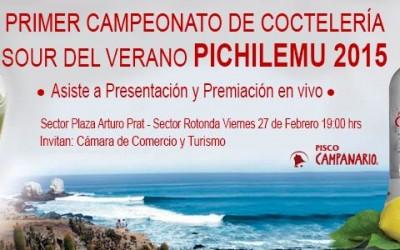 Pichilemu Campeonato cocteleria