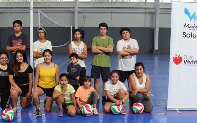 Salud machali promocion deporte municipal