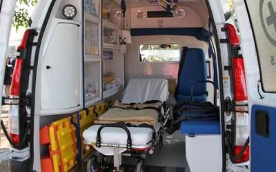 entrega de ambulancias San Vicente
