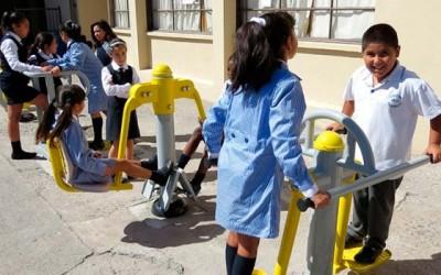 Cormusaf maquinas de ejercicios en colegios