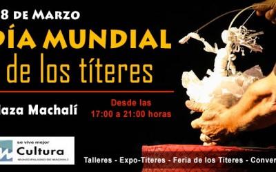 Machali dia mundial de los titeres