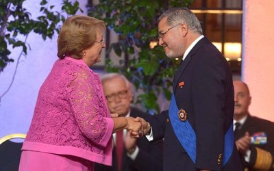 PDI Jefe regional recibe condecoracion