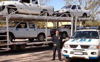 PDI camionetas robadas