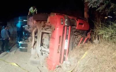 carabineros accidente y muerte en Litueche