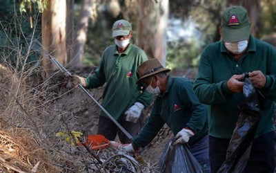 operativo limpieza cerro san juan machali