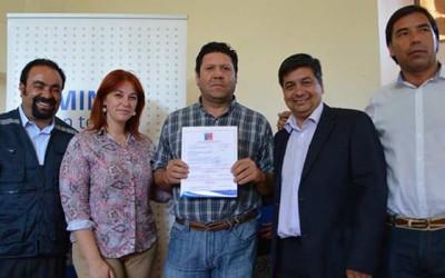 subsidios en Chepica y Placilla
