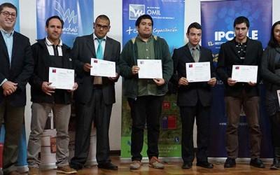 14 machalinos son certificados en Izaje y Montaje Industrial