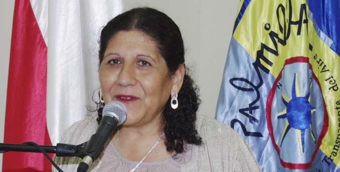 Alcaldesa de Palmilla