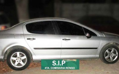 Carabineros autos robados en Rengo