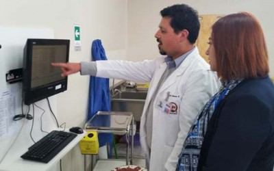 Gobernadora de Colchagua visita hospital de de Chimbarongo