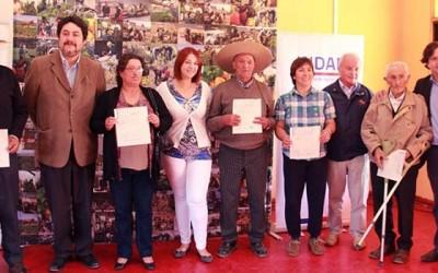 Indap incentivo agricultores Pumanque
