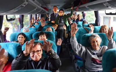 Machali adultos mayores viajan