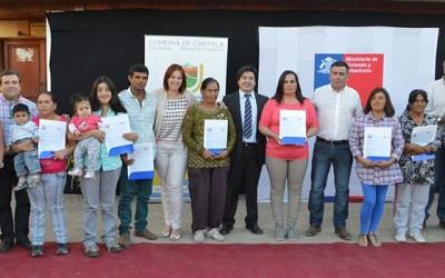 Minvu Familias de Chepica subsidios