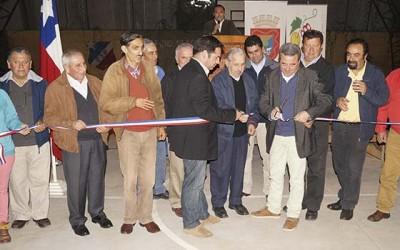 Peralillo inauguracion espacios deportivos