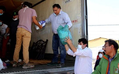 San Fernando ayuda Paipote