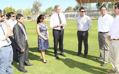 centros de entrenamiento para Copa America