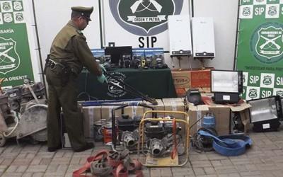 Carabineros especies robadas Machali