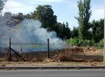 Conaf suspende avisos de quemas controladas