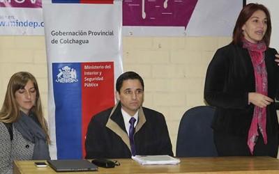 Gobernadora Colchagua dialogo ciudadano