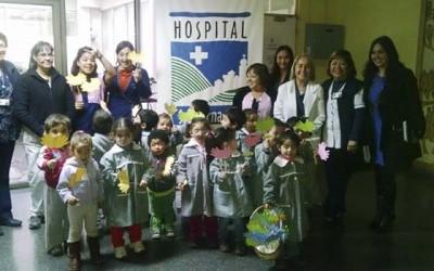 Hospital San Fernando Dia de Lavado de Manos