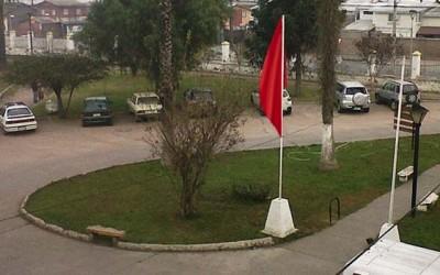 Hospital de Chimbarongo bandera roja