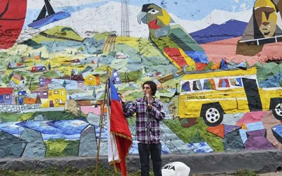 Machali mural coyino