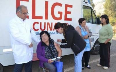 Salud OHiggins vacunacion influenza