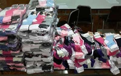 carabineros calcetines falsos
