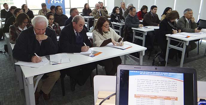 CChC SII capacitan sobre Reforma Tributaria