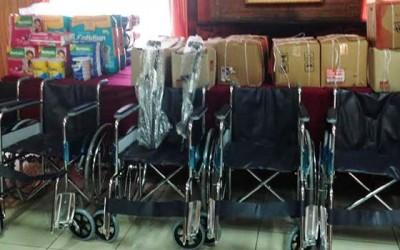 Comite de ayuda El Teniente beneficia a 30 familias de Machali