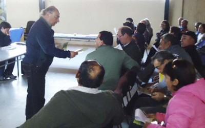 Conaf talleres de arbolizacion Cardenal Caro