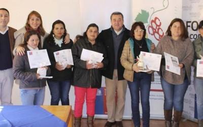 Familias de Peralillo aprenden habitos de vida saludable
