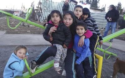 Fosis accion comunitaria campamento Colchagua