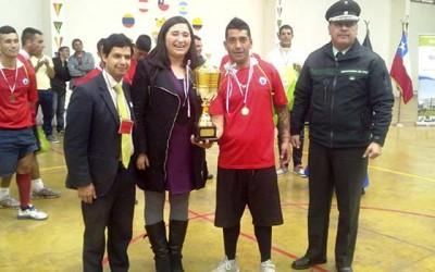 Justicia Campeonato Regional de Futbol Intrapenitenciario