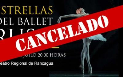 Ballet ruso Cancelado